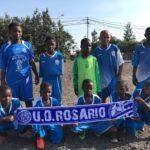 Equipo de la U.D. Rosario del orfanato del Congo